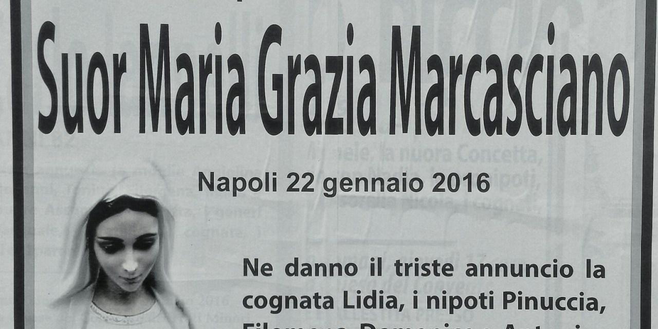 Suor Maria Grazia Marcasciano