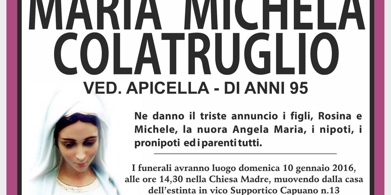 Maria Michela Colatruglio