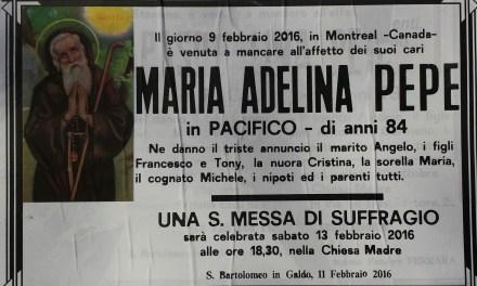 Maria Adelina Pepe