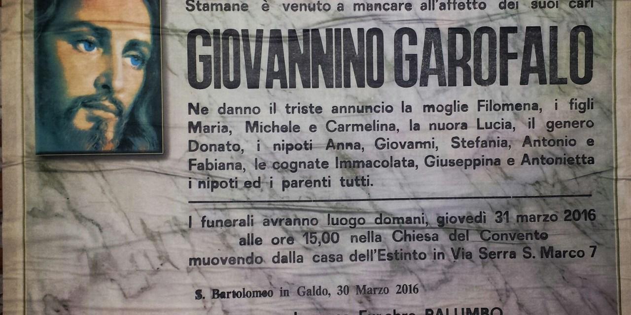 Giovannino Garofalo