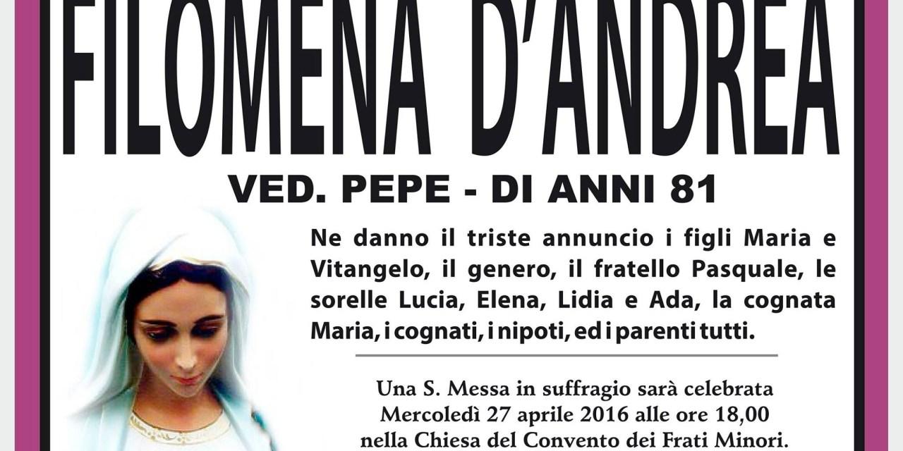 Filomena D'Andrea
