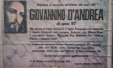 Giovannino D'Andrea
