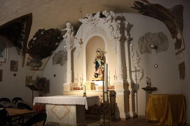 La cripta della Chiesa Madre