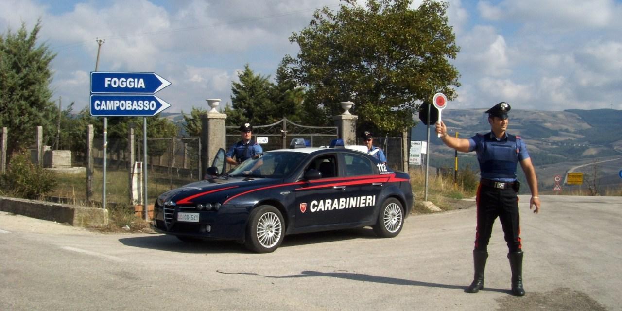 """""""Alto impatto"""" carabinieri in azione: effettuati anche due arresti"""