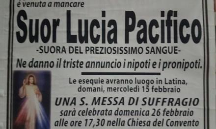 Suor Lucia Pacifico