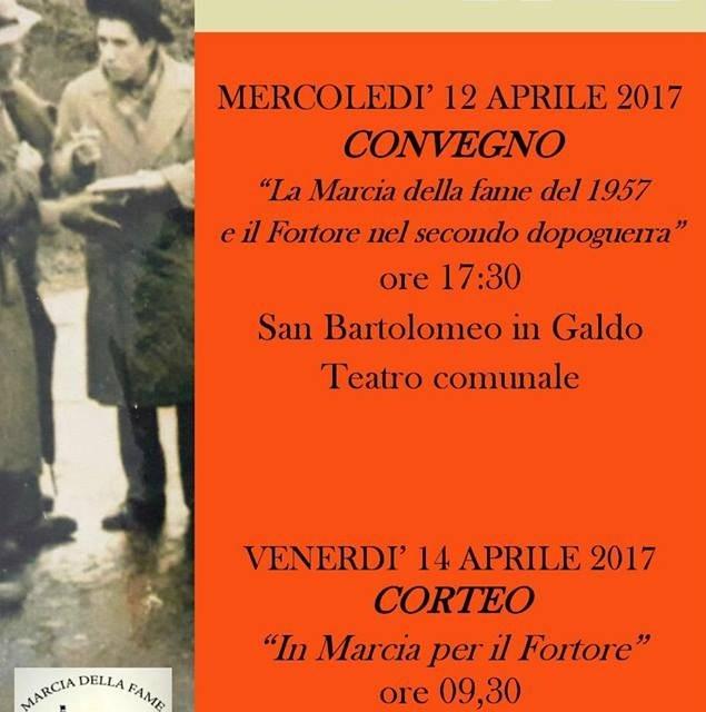 """ISS """"Medi-Livatino"""": Marcia della Fame 1957-2017"""