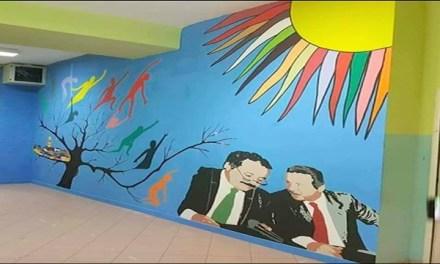 A San Bartolomeo in Galdo entra a scuola l'antica Arte dei Murales Cileni