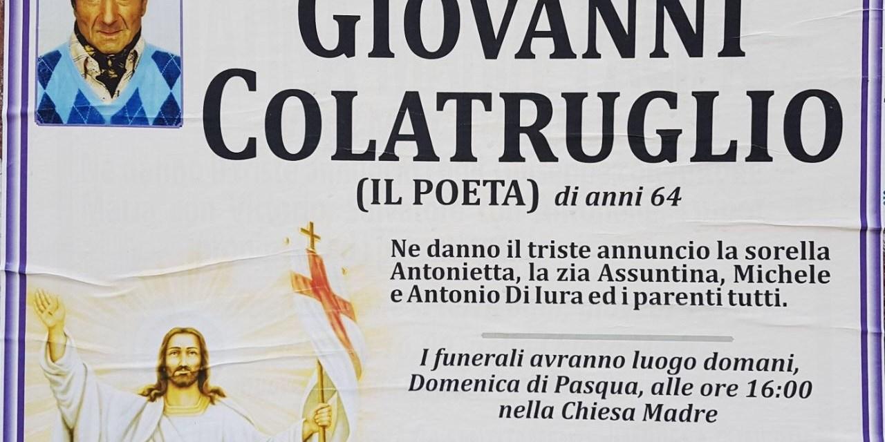 Giovanni Colatruglio – il poeta