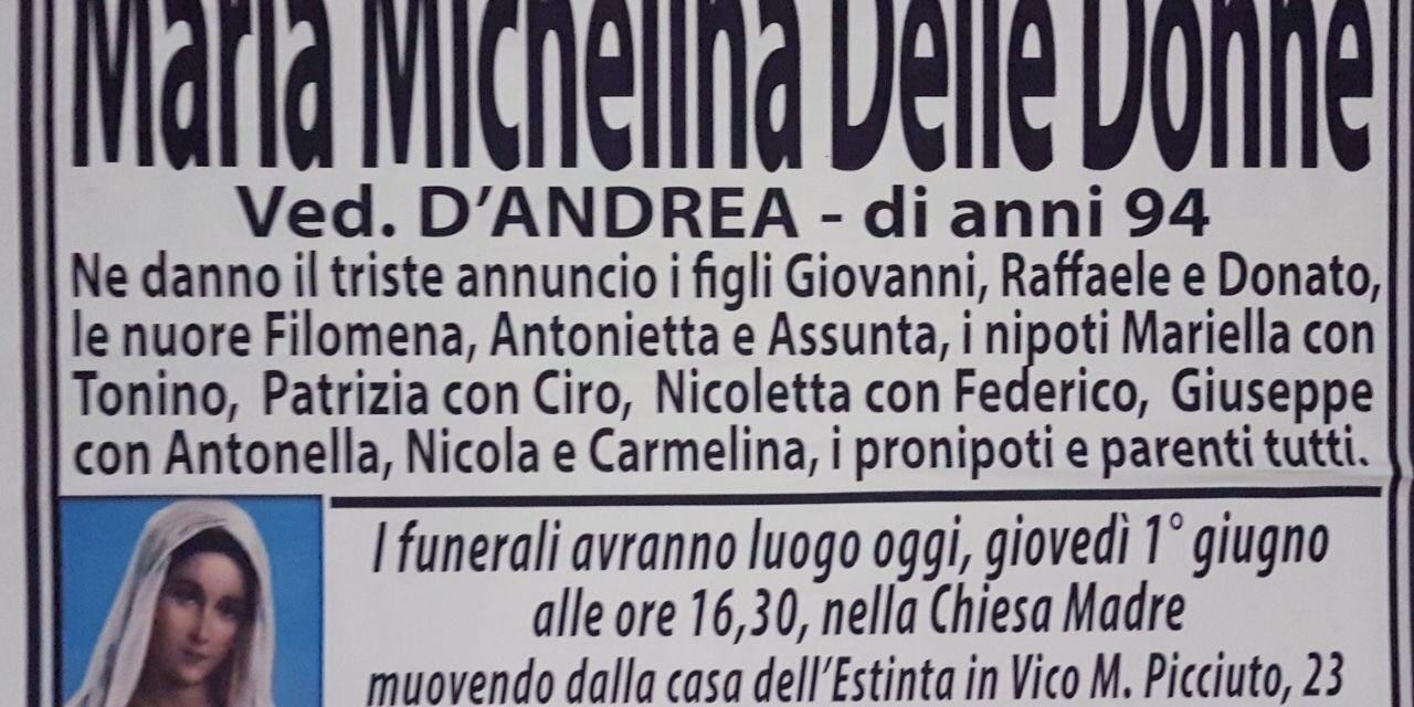 Maria Michelina Delle Donne