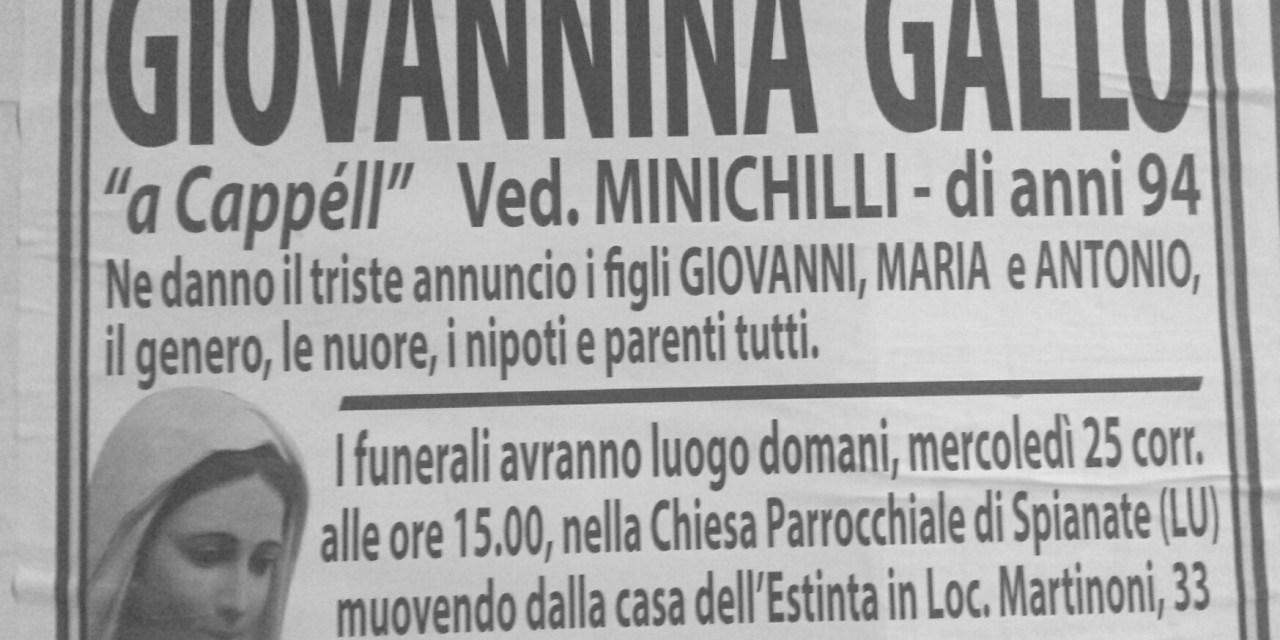 Giovannina Gallo