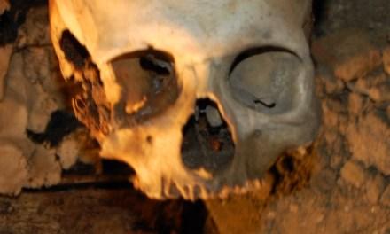 La cripta della Chiesa Nuova