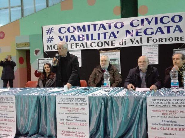 """Mobilita' Fortore, il Comitato: """"Ricci si e' impegnato a racimolare ulteriori finanziamenti"""""""