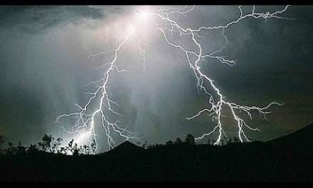 Piogge intense e grandine, paura nel Fortore