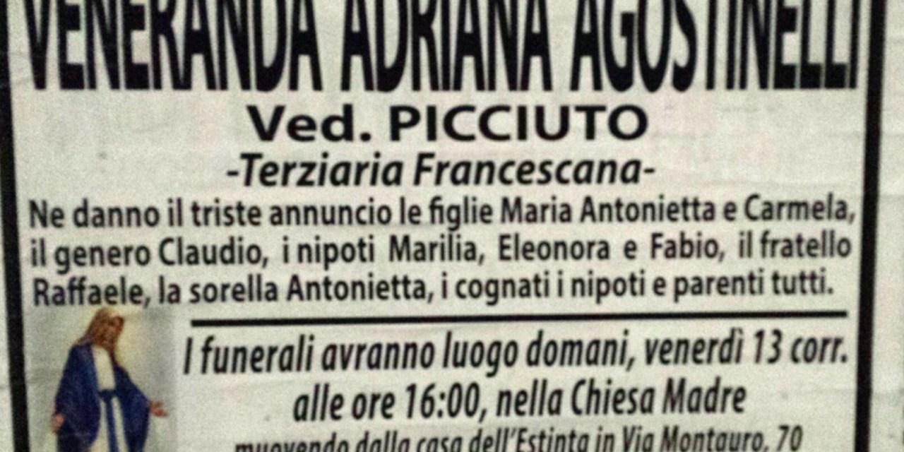 Veneranda Adriana Agostinelli