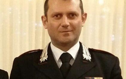 Il capitano dei Carabinieri Gaetano Ragano sarà il nuovo comandante della Compagnia di San Bartolomeo in Galdo