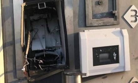 Bomba allo sportello automatico delle Poste: banditi scappano col malloppo, il colpo al postamat di Alberona