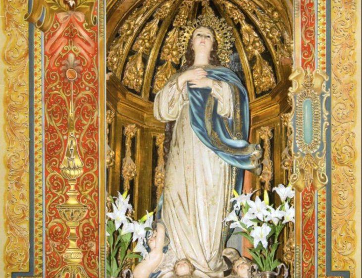 Imagen de la Inmaculada Concepción de la Parroquia de Santa María Magdalena, en Dos Hermanas.