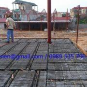 Thi công sàn panel siêu nhẹ tại nhà hàng hải sản Lạng Sơn