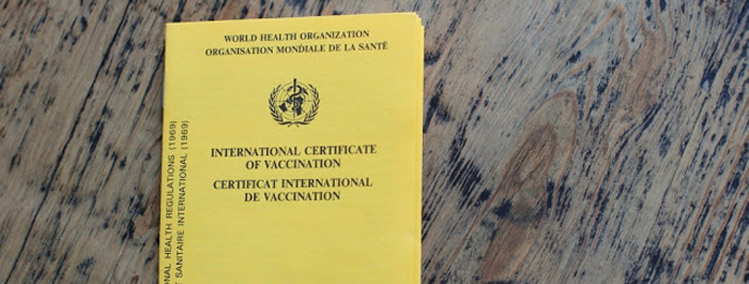 international Vaccination card Panama