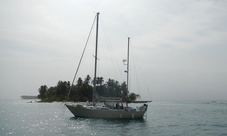 sailing San Blas Islands