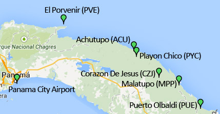 Airports San Blas