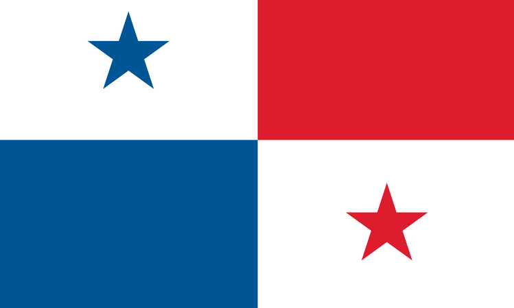 Official Panama flag