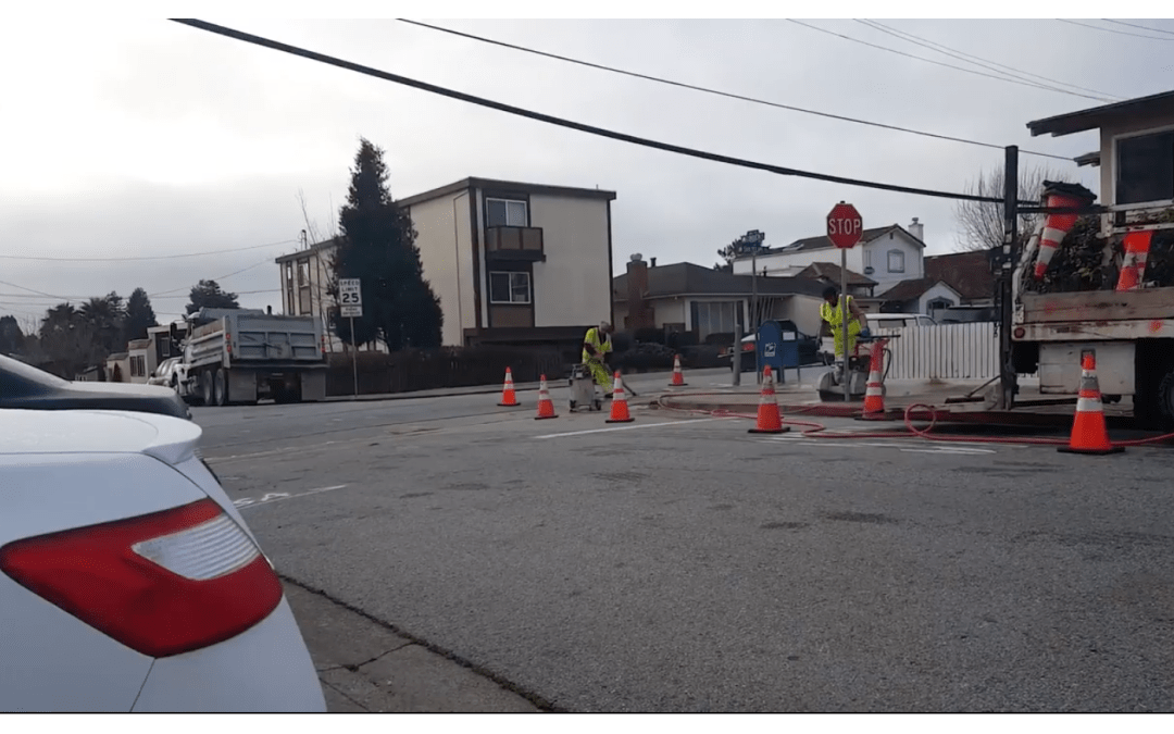 Corner Ramps Added at Linden and San Felipe