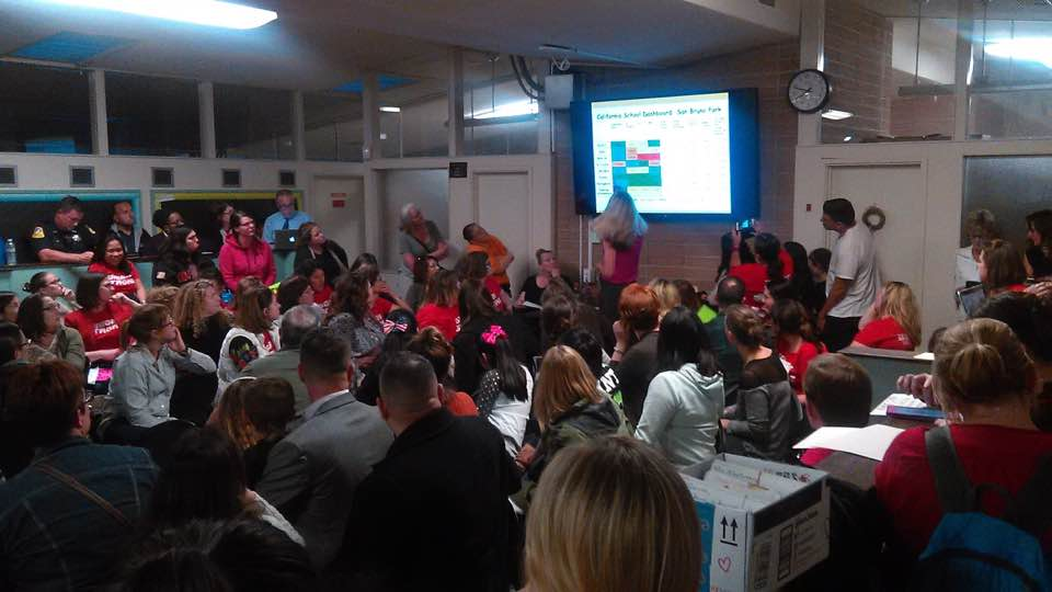 Support Our Teachers And Students / April 12 School Board Meeting