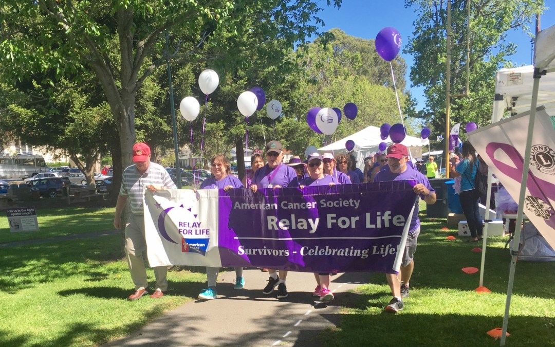 Relay For Life in San Bruno City Park
