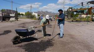Antonio a Civil Engineer from  Guaymas donates time & material