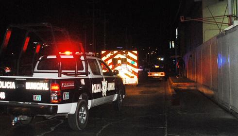 Municipal police respond to Tufesa bus terminal