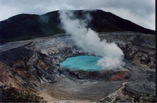 Erupción Poas Alerta Verde