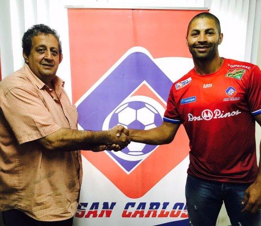 Sergio Chaves y Álvaro Saborío