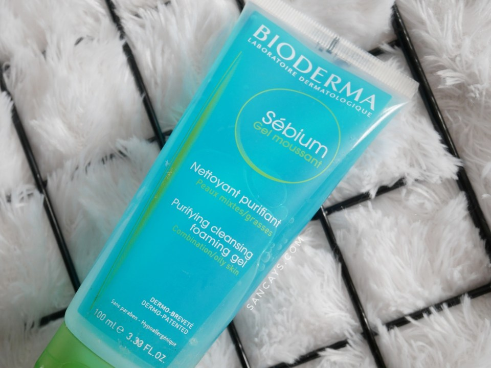 bioderma sebium foaming gel 2