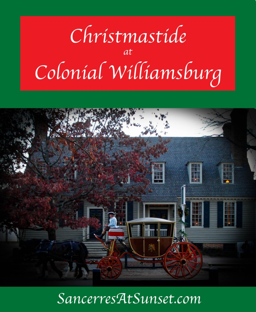 Special holiday programs run during Thanksgiving through New Year's Day at Colonial Williamsburg.