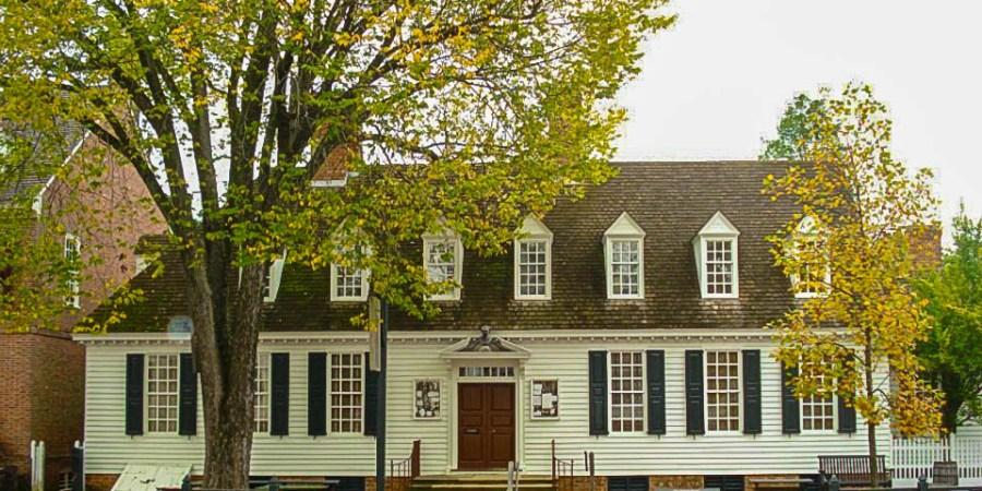Raleigh Tavern, Colonial Williamsburg, Virginia