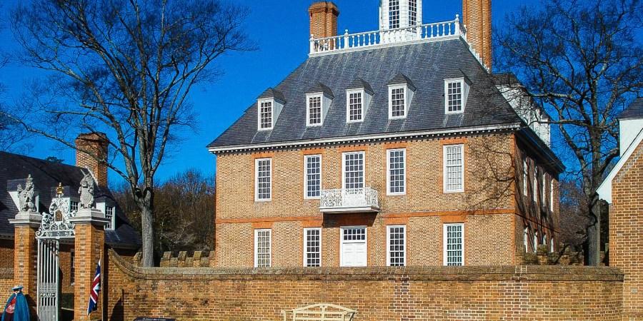 Governor's Palace, Colonial Williamsburg, Virginia