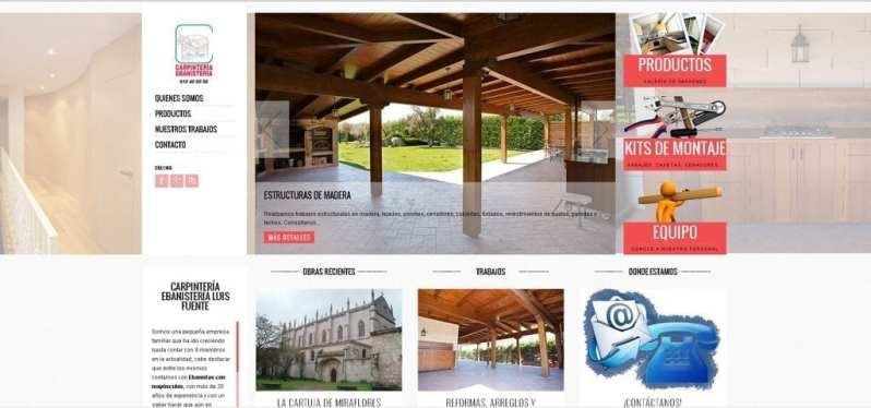 Caso de éxito SANcotec - Carpintería Luis Fuente - Proyecto Web