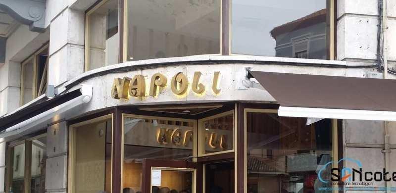 SANcotec-Bar Nápoli en Burgos