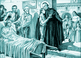 Saint Joseph Benedict Cottolengo