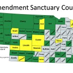 National Firearms Owners Association Sanctuary County Map 30MAR2021
