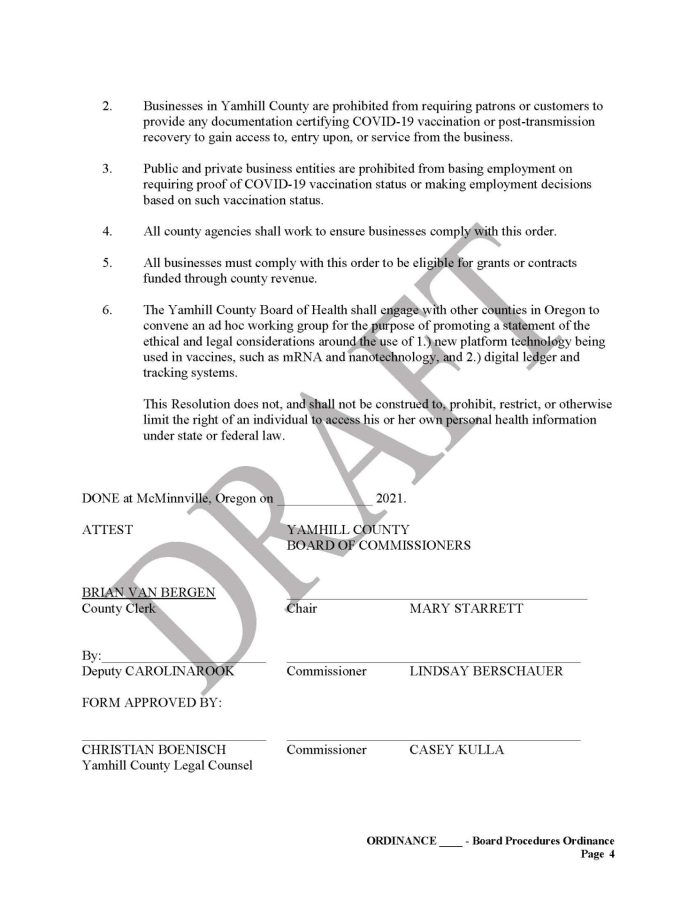 Yamhill County, OR Vaccine Passport Sanctuary Draft Page 4