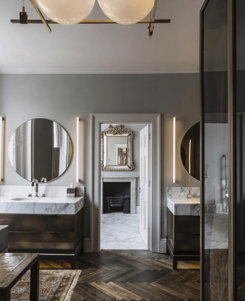 The 15 Most Beautiful Bathrooms on Pinterest - Sanctuary ... on Beautiful Bathroom Ideas  id=38240