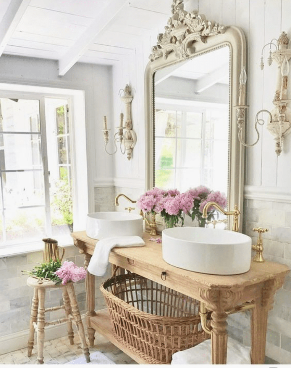The 15 Most Beautiful Bathrooms on Pinterest - Sanctuary ... on Beautiful Home Decor  id=17930