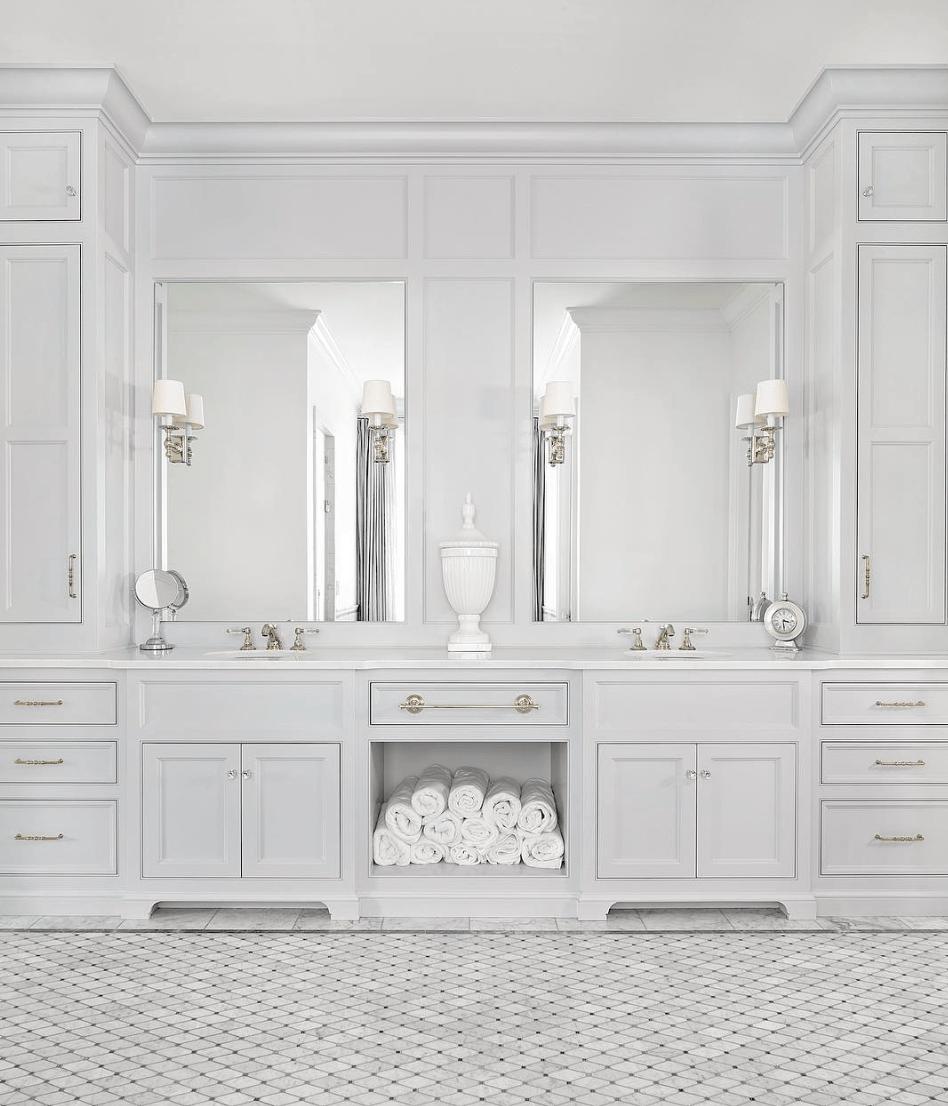 The 15 Most Beautiful Bathrooms on Pinterest - Sanctuary ... on Beautiful Bathroom Ideas  id=30609