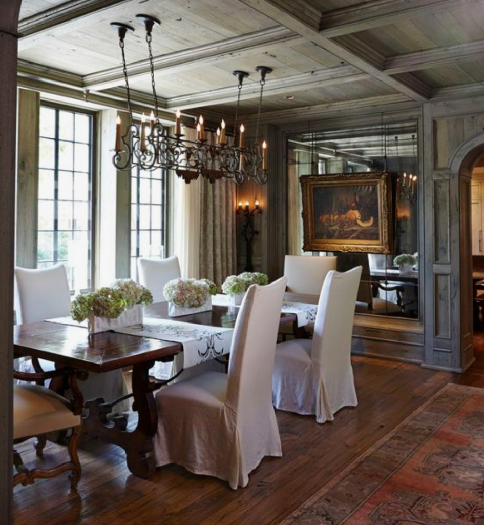 The 15 Most Beautiful Dining Rooms on Pinterest ... on Beautiful Room  id=15450