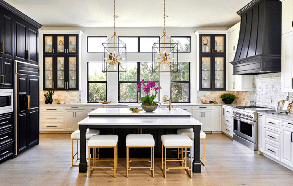 The 15 Most Beautiful Modern Farmhouse Kitchens on ... on Beautiful Kitchen  id=53307