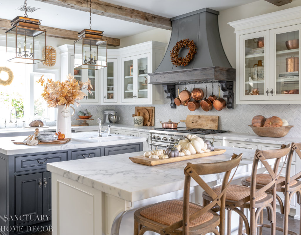 Farmhouse Kitchen Fall Decorating Ideas - Sanctuary Home Decor on Farmhouse Kitchen Ideas  id=63229