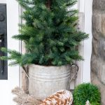 Neutral Christmas Front Porch Decor Sanctuary Home Decor