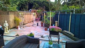 Cat secure garden in London